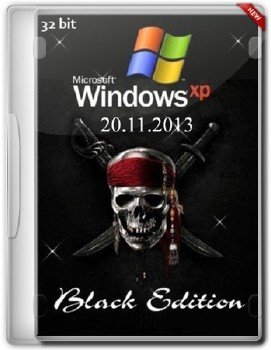 Windows XP Professional SP3 Black Edition 20.11.2013 (х86/ENG/RUS)