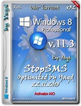 Windows 8 Enterprise StopSMS (x32) Optimized by Yagd v.11.3 [22.11.2013] [Rus]