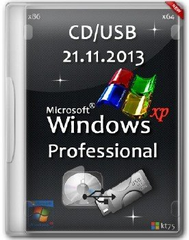 Windows XP Professional Edition VL x86/x64 CD/USB by kt75 (21.11.2013)