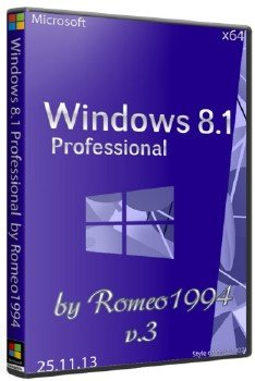 Windows 8.1 Professional (x64) v.3 by Romeo1994