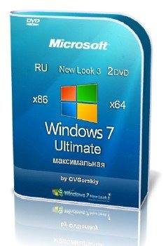 Microsoft Windows 7 Ultimate Ru x86-x64 SP1 NL3 by OVGorskiy® 12.2013 2 DVD