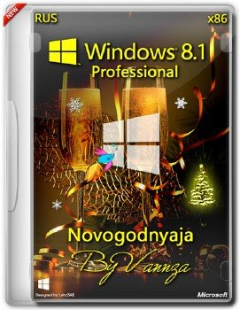 Windows 8.1 x86 Pro Novogodnyaja Vannza RuS