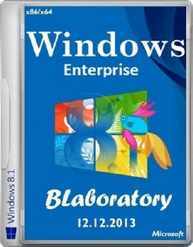 Windows 8.1 Enterprise x86 x64 BLaboratory (12.12.2013) [Ru]