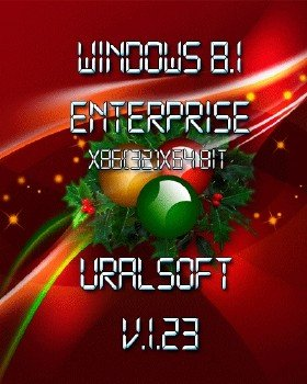 Windows 8.1x86x64 Enterprise UralSOFT v.1.23