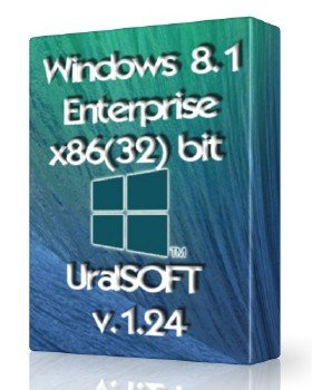 Windows 8.1x86 Enterprise UralSOFT v.1.24