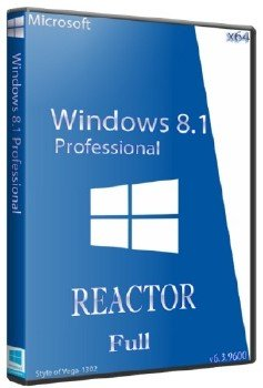 WINDOWS 8.1 x64 PRO REACTOR FULL
