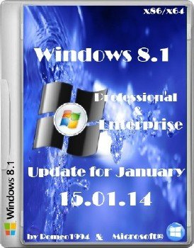 Windows 8.1 Professional / Enterprise x86/x64 Update for January (15.01.14) by Romeo1994
