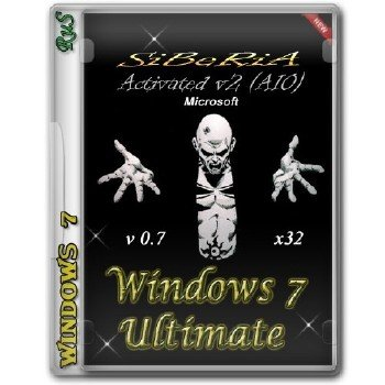 Windows 7 Ultimate x32 SiBeRiA V 0.7 [15.01.2014]