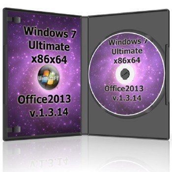 Windows 7x86x64 Ultimate & Office2013 UralSOFT v.1.3.14