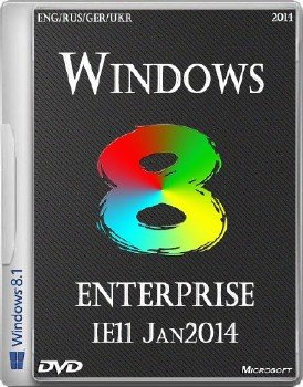 Windows 8.1 enterprise x64 IE11 Jan2014 (ENG/RUS/GER/UKR)
