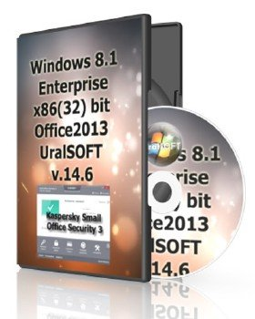 Windows 8.1 x86 Enterprise & Office2013 UralSOFT v.14.6