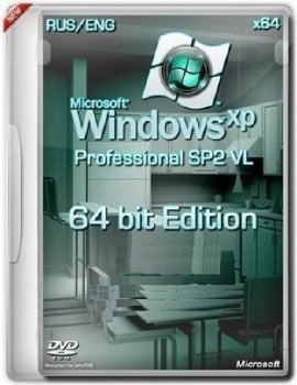 Microsoft Windows XP Professional x64 Edition SP2 VL RU SATA AHCI I-XIV