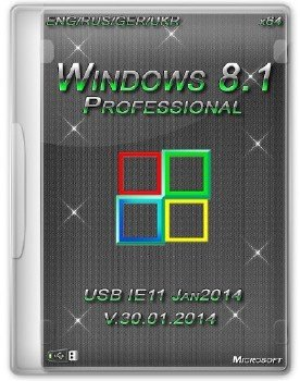 Windows 8.1 Professional (x64) Heavieri IE11 (Jan2014) [ENG/RUS/GER/UKR]