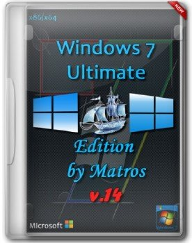 Windows 7 SP1 Ultimate Edition by Matros v.14