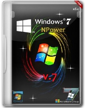 Windows 7 Ultimate NPower SP1 х64 NickWare Group v.7