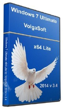 Windows 7 Ultimate x64 Lite by VolgaSoft 2014 v.3.4