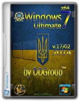 Windows 7 Ultimate SP1 x64 [v.17.02]by DDGroup™[UKR]