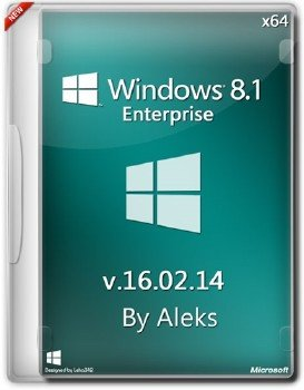 Windows 8.1 Enterprise v.16.02.14 by Aleks (64bit)