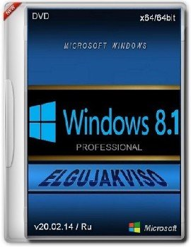 Windows 8.1 Pro x64 Elgujakviso Edition (v20.02.14) [Ru]
