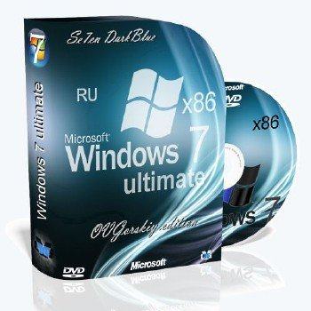 Microsoft Windows 7 Ultimate Ru x86 SP1 7DB by OVGorskiy® 02.2014 [Ru]
