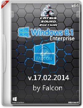 Windows 8.1 Enterprise by Falcon Crysis Sound Edition (64bit)