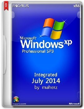 Windows XP Pro SP3 x86 Integrated July 2014 By Maherz
