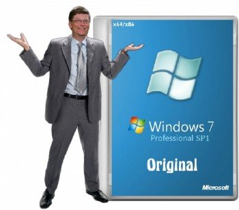 Windows 7 Professional SP1 by -A.L.E.X.-