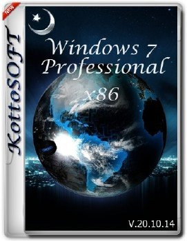 Windows7 Professional KottoSOFT V.20.10.14 (x86)