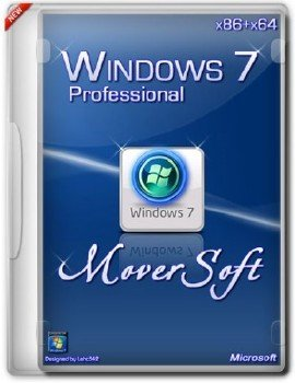 Windows 7 Pro SP1 x86+x64 MoverSoft 10.2014[Ru]