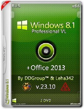 Windows 8.1 Pro vl x64 + Office 2013 Pro Full [v.23.10] by DDGroup™ & Leha342 [Ru]