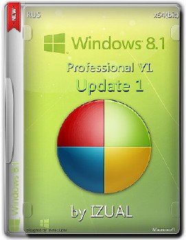 Windows 8.1 Professional Vl With Update IZUAL v30.10.14