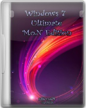 Windows 7 SP1 Ultimate MoN Edition 4.01 [Русский] 30.11.2014