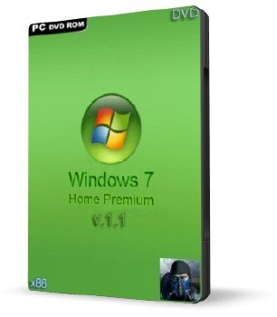 Windows 7 Home Premium SP1 (х86) RUS v1.1 Subzero