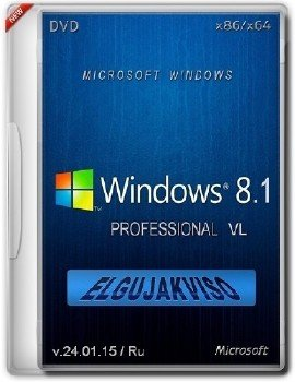 Windows 8.1 Pro (x86/x64) Elgujakviso Edition