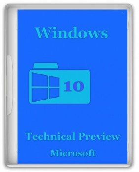 Windows 10 x86x64 4 in 1 Technical Preview Rus v.1.01