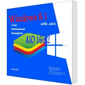 Windows 8.1 update3 Ru x86-x64 aio 16in2 by Bukmop