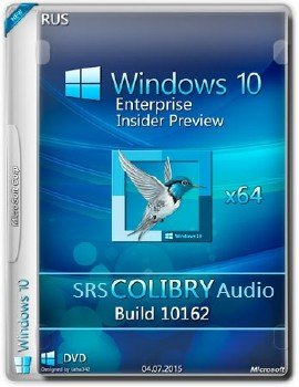 Microsoft Windows 10 Enterprise Insider Preview 10162 x64 RU-RU COLIBRY_S