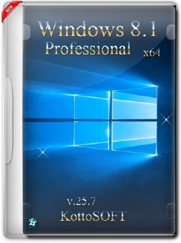Windows 8.1x64 Professional KottoSOFT v.25.7.15