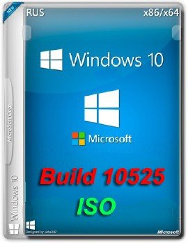 Microsoft Windows 10 Insider Preview 10.0.10525 (x86-x64) (2015) [Rus+Eng] (iso)