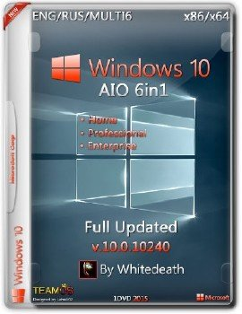 Windows 10 AIO 6in1 x86/x64 Full Updated By Whitedeath