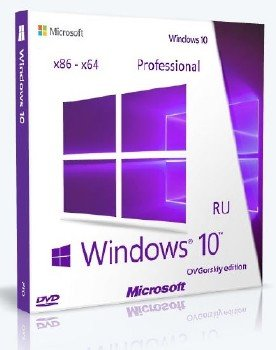 Microsoft® Windows® 10 Professional x86-x64 RU by OVGorskiy® 08.2015 2DVD (v.2) [Ru]