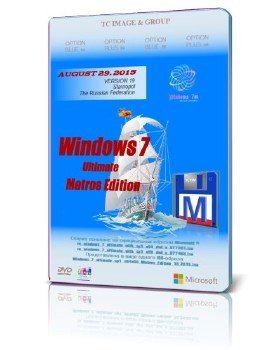 Windows 7 Ultimate SP1 Matros Edition 19.2015 (x64x86 )