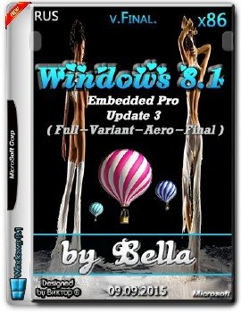 Windows 8.1 Embedded Pro x86 Update 3 ( Full-Variant-Aero-Final ) by Bella
