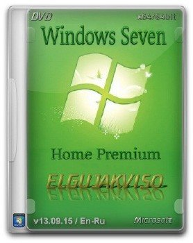 Windows 7 Home Premium SP1 (x64) Elgujakviso Edition (v13.09.15) [En/Ru]