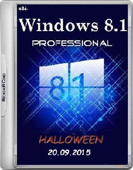 Windows 8.1 Professional x86 HALLOWEEN by novik