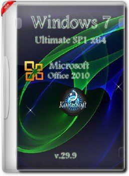 Windows 7x64 Ultimate Office 2010 KottoSOFT v.29.9