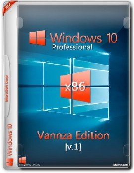 Windows 10 Professional 32-bit (x86) Vannza Edition [v1] [Ru]