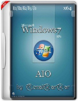 Windows 7 AASDP (AIO) by RWW x64