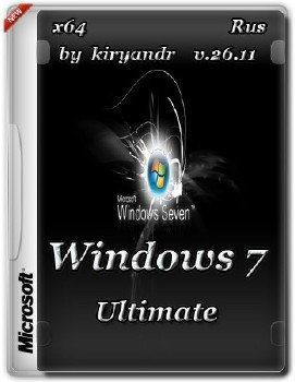 Windows 7 Ultimate SP1 by kiryandr v.26.11
