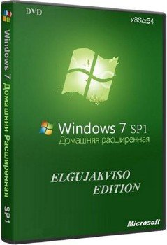 Windows 7 Home Premium SP1 (x86/x64) Elgujakviso Edition v29.11.15 [Ru]